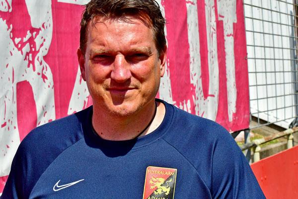 Das neue Trainergesicht in der Südstadt Andreas Herzog coachte das Team gegen Horn