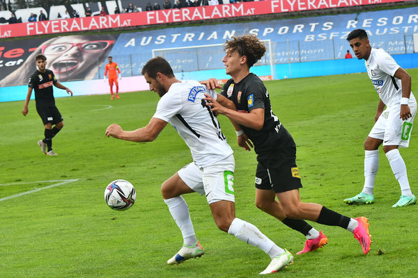 Luca Kronberger stach besonders durch seine Leistung heraus und empfahl sich weitere Einsätze