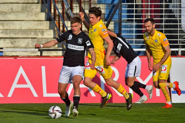 Auch Dominik Starkl beteiligte sich wieder aktiv im Spielgeschehen
