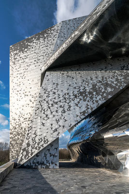Paris, Philharmonie. Architektur:  Jean Nouvel