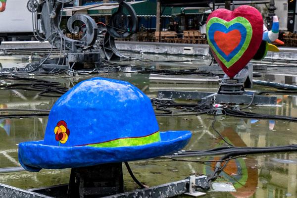 Centre Pompidou -  Brunnen von Tinguely