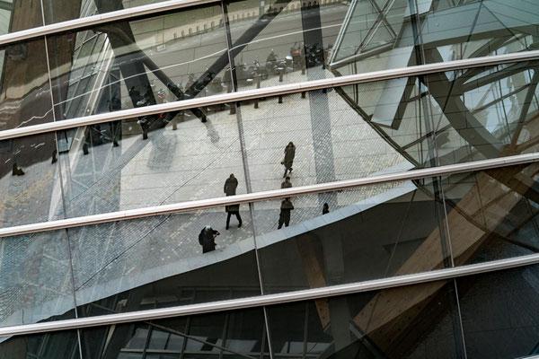 Paris, Fondation Louis Vuitton. Architekt:  Frank Gehry