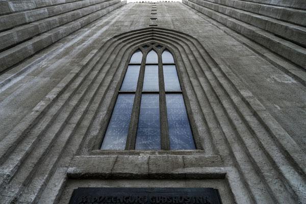 Wahrzeichen der Stadt: Hallgrimsson-Kirche