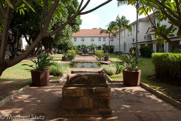 Garten des Victoria Falls Hotels
