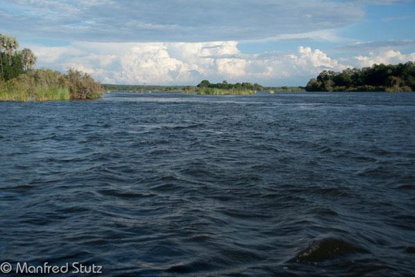 Flussfahrt auf dem Zambezi