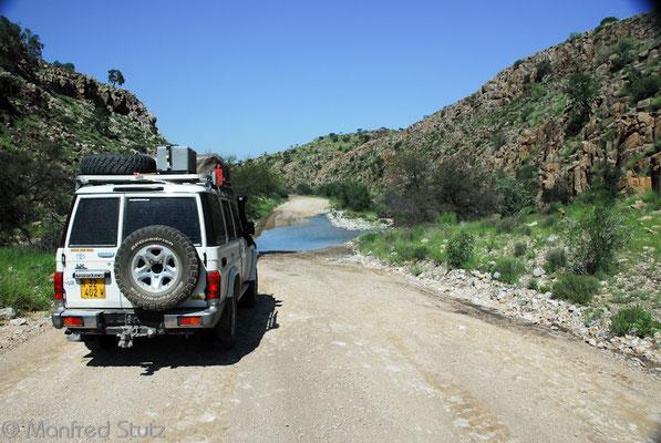Tsarishoogte Pass (2020 m) in Namibia