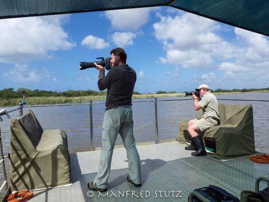 """""""Naturfotografen"""" bei der Arbeit"""