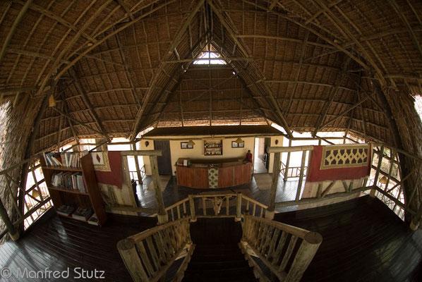 Hauptgebäude von innen