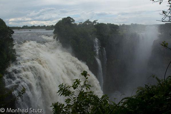 Die berühmten Victoria Wasserfälle