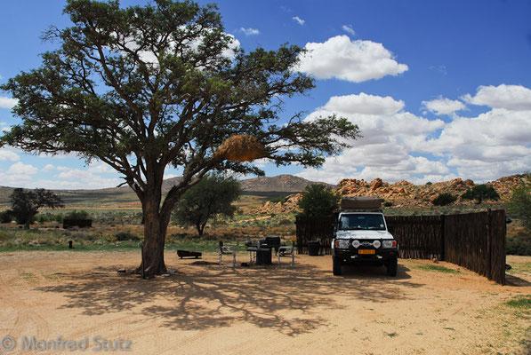 Campsite von Klein Aus Vista