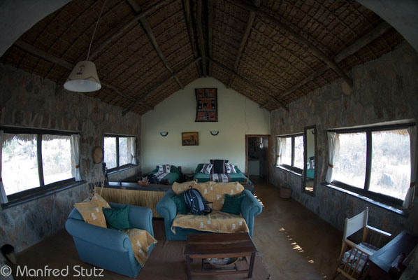 Unser Bandas in der Ruaha River Lodge