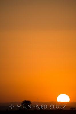 Sonnenaufgang wie es in...