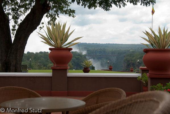 """Aussicht von der """"High Tea Terrasse"""""""