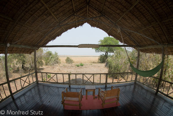 Aussicht von unserem Safarizelt