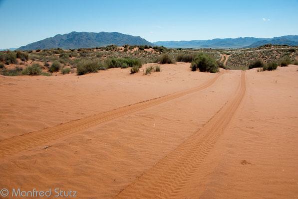 Wunderschöne Landschaft des Namib Rand Nature Reserves