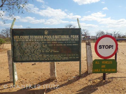 Ab in den Mana Pools Nationalpark