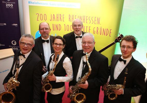200 Jahre Rheinhessen - Sax Only ist dabei!   Foto: A. Sell