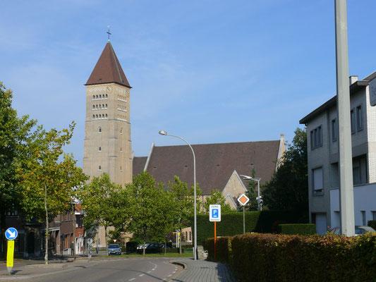 Een eerste zicht op de St Martinuskerk