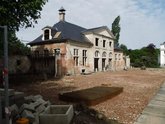 Bijgebouwen Hof ter Linden (in restauratie)