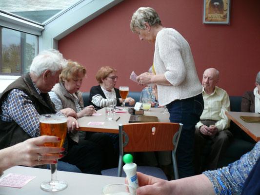 zaterdagavond: bingo en plezier