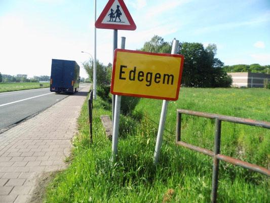 Doornstraat aan de grens van Wilrijk