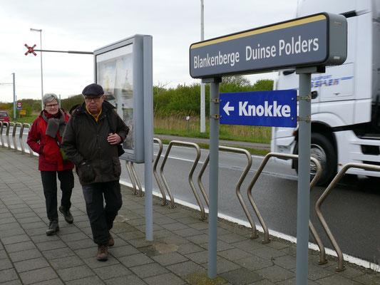 """Eerst """"trammen"""" naar Knokke"""