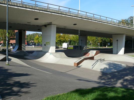 Skate-hellingen