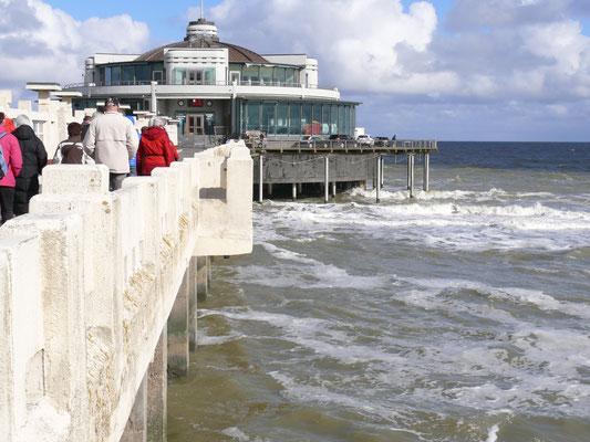 Geen wandeling te Blankenberge zonder bezoek aan de pier!