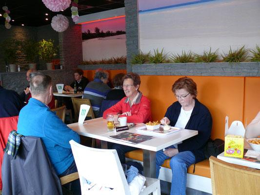 Sfeerbeeld in het café-restaurant