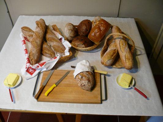 Het brood ligt klaar