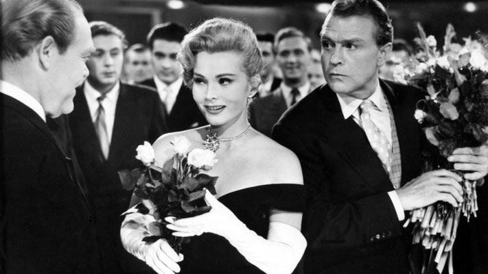 Ball der Nationen 1954 Zsa Zsa Gabor