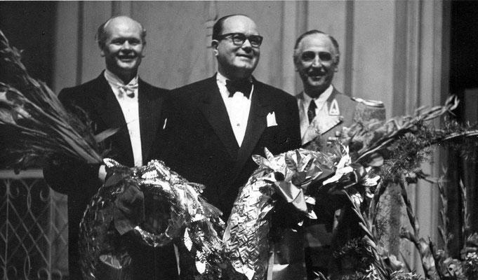 Fred Raymond, Premiere Geliebte Manuela 1952