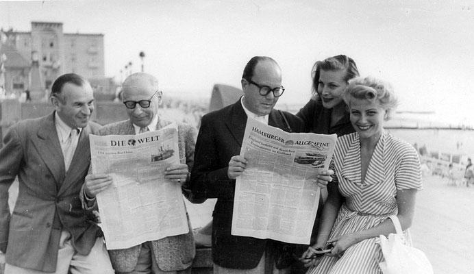 Fred Raymond, Winnie Markus, Karin Himbold