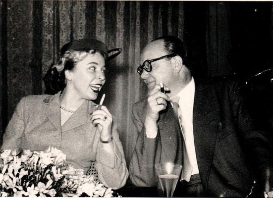 Fred Raymond und seine Frau Eva-Maria