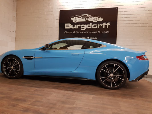 Aston Martin Vanquish V12 Coupe Modell 2 Burgdorffs Webseite