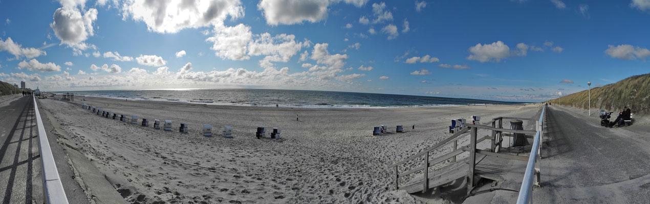 Der Strand von Westerland