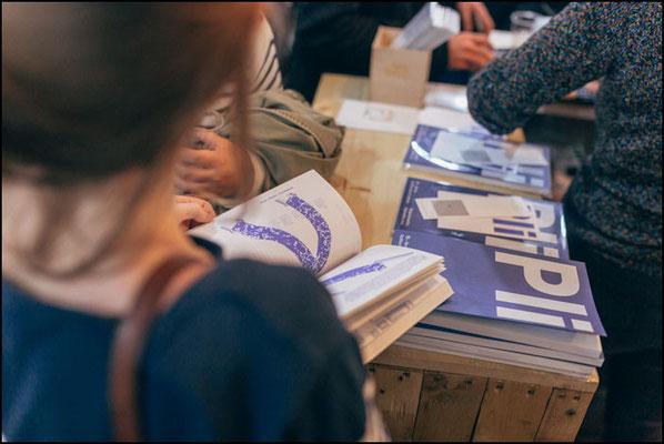 Soirée de lancement à la librairie Volume, à Paris. Photo: Pe Testard.