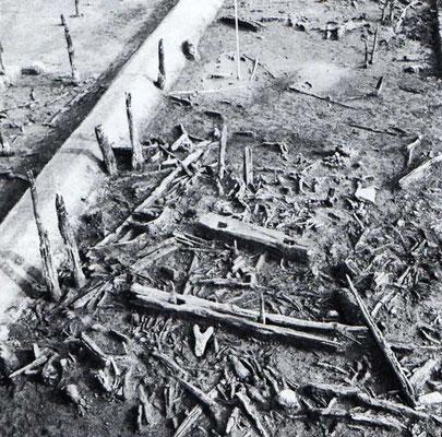 Bild der Ausgrabungen von 1938/39 in Hilferdingsen