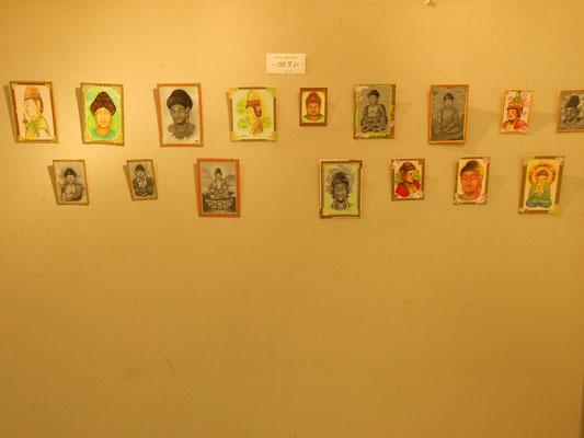 八木橋オープンギャラリー熊谷8F 立花雪 炎と楽園のアート
