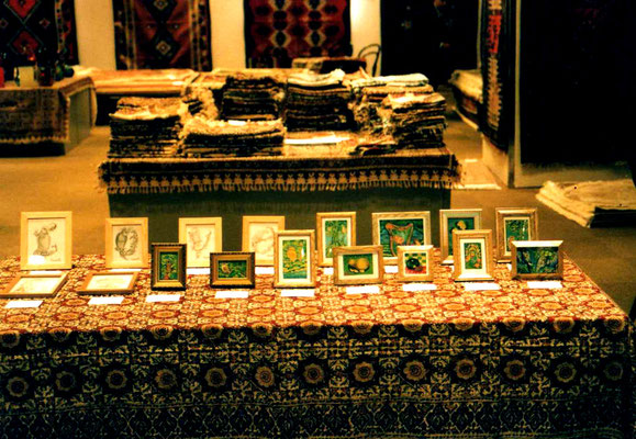 ベイシア伊勢崎店4F  ペルシャ絨毯と絵画 (賛助出品) 立花雪
