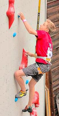 ES-Vertikal Kletterzentrum Leistungsgruppe