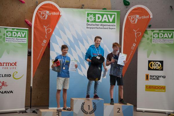 ES-Vertikal Kletterzentrum Deggendorf Wettkampf 2019 Siegerehrung
