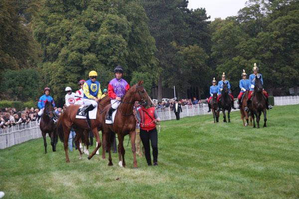 Parade zum St.Leger Rennen