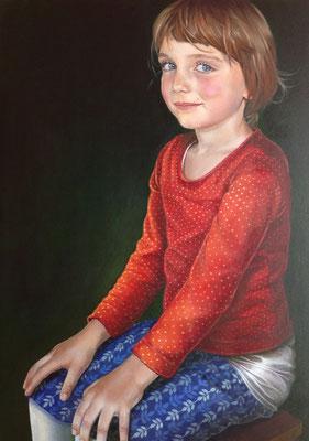 Auftragsarbeit Porträt (Acryl, 60x80cm) – 2015