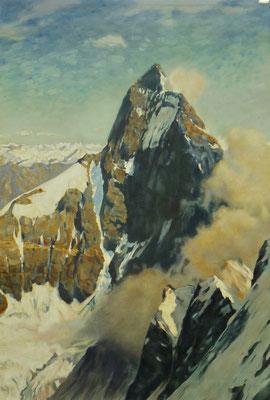 Prospekt Landschaft (Stoffmalfarbe, 3x4m)