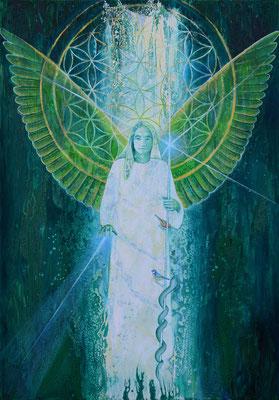 Erzengel Raphael, Heiler Gottes, spendet Trost und eröffnet Wege der Heilung