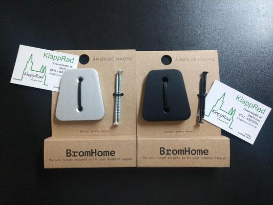 Bromhome  NEU - Neu -NEU - Neu  Wandhalterung für Brompton Taschen  - für €34,90 im Shop in Ulm erhältlich