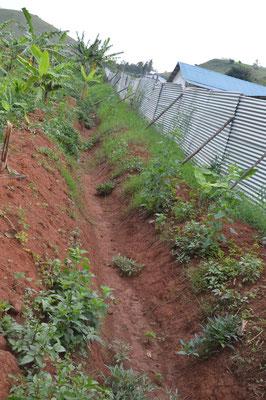 Erste Vorarbeiten für die Drainage (2)