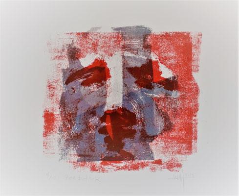Marc Prat | Mask - screenprint  | screenprint on paper | 30 x 30 cm | € 250,-