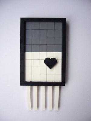EL EGO 2020 Hommage an Banksy (Vintage) | Lego | 20x9,5x1,5cm | Edition: 25+1 | € 380,- each
